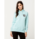 THE NORTH FACE Logo Plus Light Blue Womens Hoodie