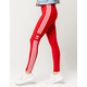ADIDAS Trefoil Stripe Scarlet Womens Leggings