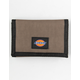 DICKIES Washed Nylon Natural Trifold Wallet