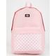 DICKIES Red Label Checkered Pink Backpack