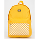 DICKIES Red Label Checkered Yellow Backpack