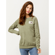 THE NORTH FACE Heritage Four Leave Clover Heather Womens Sweatshirt