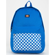 DICKIES Red Label Checkered Blue Backpack