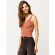 FULL TILT Essentials Rust Womens Sweater Tank