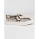 STEVE MADDEN Gills Natural Snake Womens Shoes