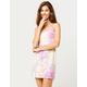 FULL TILT Tie Dye Bodycon Dress
