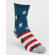 STANCE 3 Pack Americana Boys Crew Socks