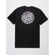 SANTA CRUZ Cherry Blossom Dot Mens T-Shirt