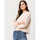 SISSTREVOLUTION On The Flip Side Womens Sweatshirt
