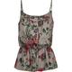 FULL TILT Floral Knit Womens Cami