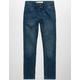 LEVI'S 519 Extreme Skinny Dark Denim Rinse Indigo Stretch Boys Jeans