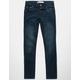LEVI'S 519 Extreme Skinny Dark Denim Boys Stretch Jeans