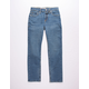 LEVI'S 502 Regular Taper Fit Dark Denim Boys Jeans