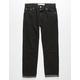 LEVI'S 502 Regular Taper Black Boys Ripped Jeans