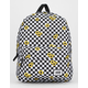 VANS Realm Sunflower Checkerboard Backpack