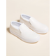 STEVE MADDEN Gills White Leather Womens Shoes