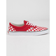 VANS Checkerboard Era Racing Red Shoes