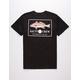 SALTY CREW Spot Tail Black Mens T-Shirt