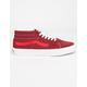 VANS Retro Sport Sk8-Mid Biking Red & Poinsetta Shoes