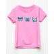 FULL TILT Butterfly Girls Tee