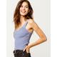 FULL TILT Essentials Blue Womens Sweater Tank