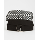 FULL TILT 2 Pack Checker & Solid Web Belts