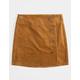 REWASH Corduroy Button Front Girls Skirt