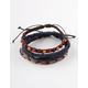 BLUE CROWN 3 Pack Braided Bracelets