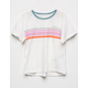 BILLIBONG Seeing Stripes Girls Tee