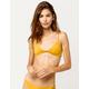 O'NEILL Salt Water Solid Knot Yellow Bikini Top