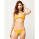 O'NEILL Salt Water Solid Classic Yellow Hipster Bikini Bottoms