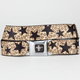 BUCKLE-DOWN Mustang Cheetah Star Buckle Belt