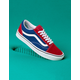 VANS ComfyCush Two-Tone Old Skool Chili Pepper & True Blue Shoes