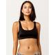 RVCA Solid Tank Black Bikini Top
