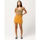 RVCA Rowdy Denim Mini Skirt