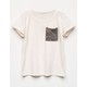 FULL TILT Camo Print Girls Pocket Tee