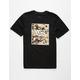 VANS Desert Camo Print Box Boys T-Shirt