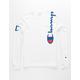 CHAMPION Shoulder Script White Mens T-Shirt