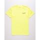 PRIMITIVE Murray Script II Neon Yellow Mens T-Shirt