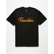 PRIMITIVE Nuevo Script Black Mens T-Shirt
