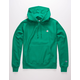 CHAMPION Reverse Weave Left C Green Mens Hoodie