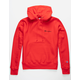 CHAMPION Reverse Weave Team Red Mens Hoodie