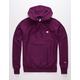 CHAMPION Left C Purple Mens Hoodie