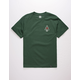 HUF Rose Triple Triangle Mens T-Shirt