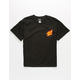 SANTA CRUZ Flame Hand Black Boys T-Shirt
