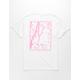 NEON RIOT Cherry Blossoms Mens T-Shirt