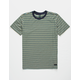BILLABONG Die Cut Stripe Dark Blue Boys T-Shirt