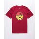 VANS Dual Palm Gradient Red Boys T-Shirt
