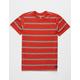 BILLABONG Die Cut Stripe Red Boys T-Shirt