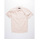 LOST Breezy Ivory Mens Shirt